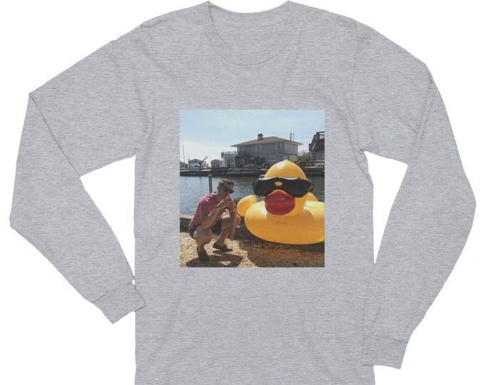 Long Sleeve T-Shirt, Photo Long Sleeve T-Shirt, Custom Long Sleeve T-Shirt, Personalized Long Sleeve T-Shirt. Unisex Long Sleeve T-Shirt