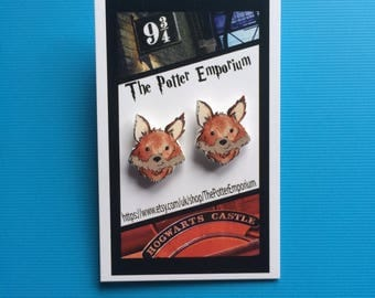 Autumn Fox Pin Badge
