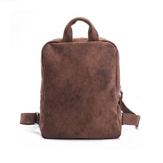 brown backpack brown leather backpack women leather laptop