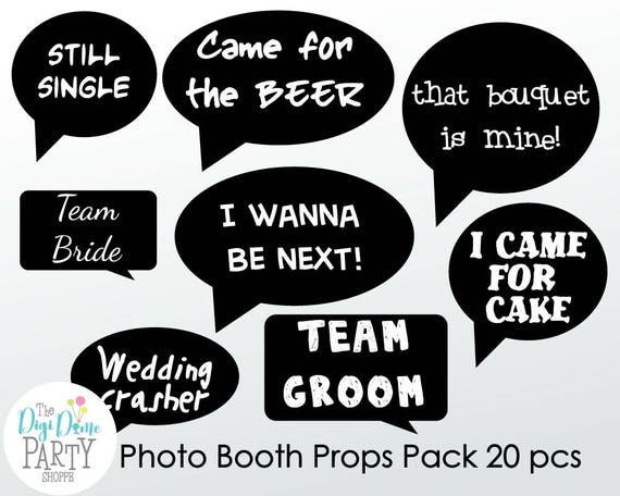 Unusual image in free printable wedding photo booth props