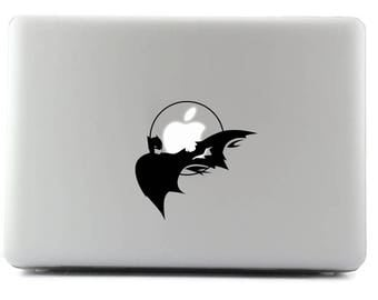 Batman, MacBook Decal, Laptop Sticker, MacBook, Viny Sticker, Apple Sticker, Custom Sticker, Personal Laptop