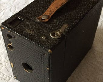 Vintage Eastman Kodak Model 2 A Brownie Box Camera