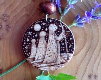 Birchwood 'Three Sisters' Medallion