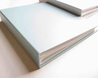 "7 x 8.8"" // Baby Blue Textured Hard Cover Pocket Photo Album 。 4 x 6"" Photo Album 。 Wedding Album 。 Baby Memory Book"