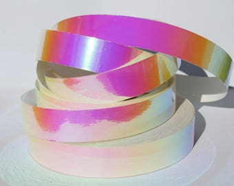 "1"" Pink Sunset Translucent Color Morph Tape - 150', 100', or 50' Rolls -Hula Hoop Tape- Decorative -Craft Tape- Nail Art -Hula Hoop Supplies"