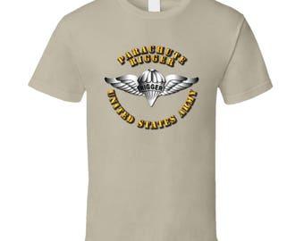 Army - Parachute Rigger Metal - T-shirt