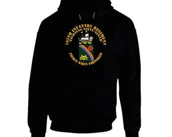Army - Coa - 165th Infantry Regiment Hoodie