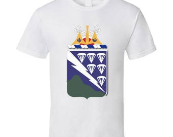 Army - Coa - 506th Infantry Regiment Wo Txt T Shirt