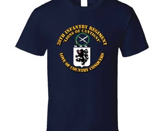 Army - Coa - 28th Infantry Regiment T Shirt