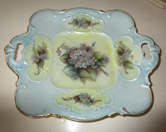 GERMANY BAVARIA HUTSCHENREUTHER Cake Plate