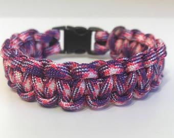 Purplelisious Paracord Bracelet