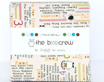 Boo Crew by Sweetwater for Moda Charm Pack OOP HTF