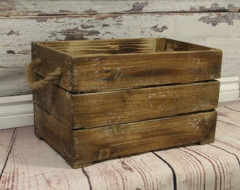 Wood box,  rustic style box, newborn photography prop, newborn prop, photography prop, Ready to go!!!!
