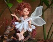Fairy doll Wedding Gift art doll wedding decor porcelain dolls handmade dolls fairy dolls fairy figurine fairies dolls LIMITED EDITION