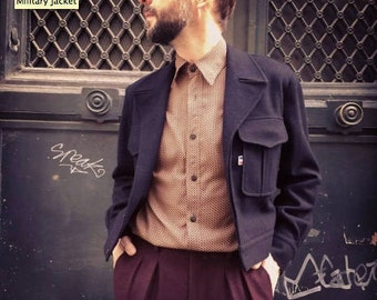 Wool Chester Jacket made in Paris
