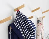 Oiled Solid Oak Coat Hooks | Inclined Angle | Coat Hook | Wall Hooks | Universal Wall Hook ***New Product***
