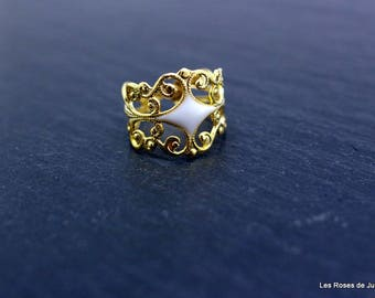 Susie size ring, Adjustable ring