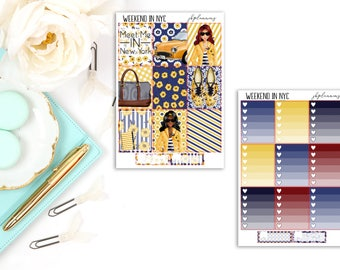 Weekend In NYC | Planner Sticker Deluxe Kit