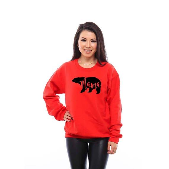 Mama Bear, Mama Bear Shirt, Mama Shirts, Mom Gifts, Baby Shower Gift, Wife Gifts, Gift for Wife, Mama Bear Sweatshirt, Gift for New Mom