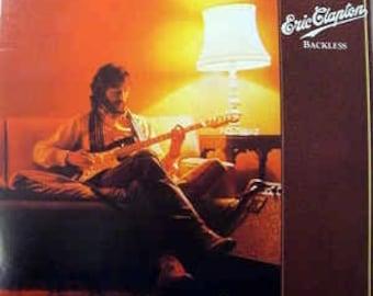 Eric Clapton - Backless - (1978) - vinyl record