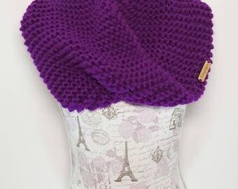 Knit Twist Cowl