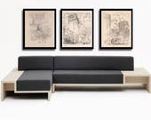 3 New York City prints, F...