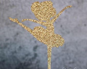 Ballerina Cupcake Toppers - Set of 12 - Ballerina Party - Ballerina Decorations - Ballerina Birthday Party - Ballerina Baby Shower - Girl