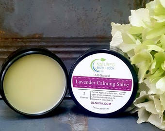 All-Natural Lavender Calming Salve