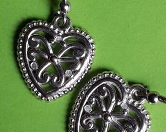 Celtic Hearts Earrings