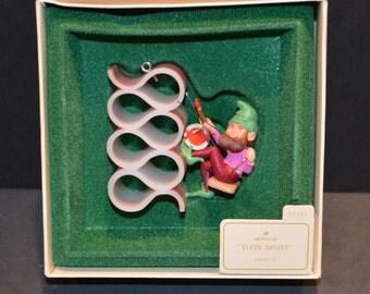 1982 Hallmark Keepsake Christmas Ornament-Elfin Artist
