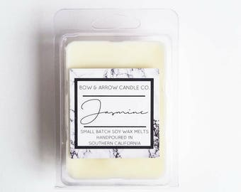 Jasmine Soy Wax Melts | Jasmine Scented | Floral Wax Melts | Soy Wax Melts | Wax Tarts | Gift Idea | Scented Wax Melts | Jasmine Flower