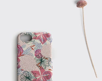 Flower iPhone 7 Case Floral iPhone 6S Plus Case Flower Gift for Her - Samsung Galaxy S7 Edge Case iPhone SE Case iPhone 6 Case Floral Gift