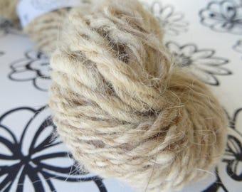 """Pure alpaca"" 100% natural Alpaca hand-spun wool"