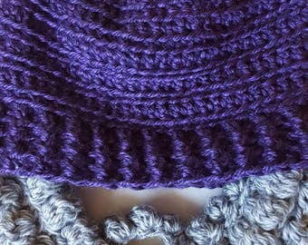 Purple Beard Beanie, Lumberjack Beanie