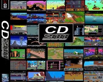 Amiga 200 in 1 Reproduction Amiga CD32 Game.