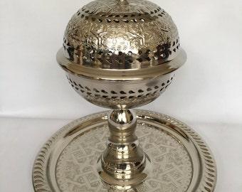 Moroccan Elegant / Chic / Luxurious Incense Burner/ LARGE