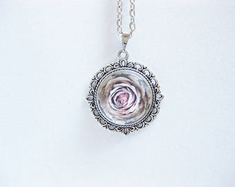 Cabochon jewelry, link chain, necklace, pendant,