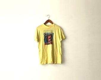 80s Piedmont Craftsment Art Shirt - S