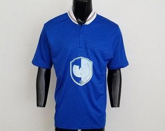 Wu-Tang Soccer Jersey W/ Glow In The Dark Logo Sz. L