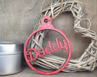 Christmas Personalised Bauble by Duck Duck Goose