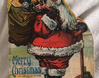 Merry Christmas Santa Book