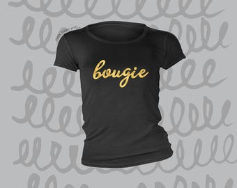 Bougie Gold Foil T-Shirt