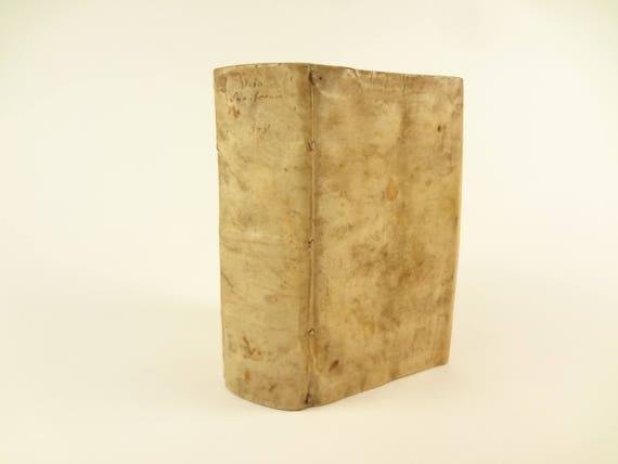 1595 Vitae Sanctorum by Franciscus Haraeus (Haraeum). Calendar of the year.