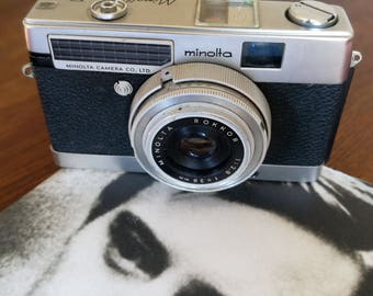 Minolta Minoltina with New Light Seals. Ready-To-Use Vintage 1960s Semi-Automatic Camera