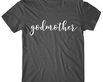Godmother Shirt, Godmother, Future God mother shirt, Womens Tshirt, Womens Graphic Tee
