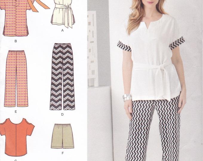 FREE US SHIP Simplicity 1618 Sewing Pattern Top Pants Shorts Summer Wardrobe Size 4/26 Bust 29 30 31 32 34 36 38 40 42 44 46 48  New