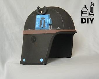 DIY Star Wars - ATST Driver helmet template for EVA foam