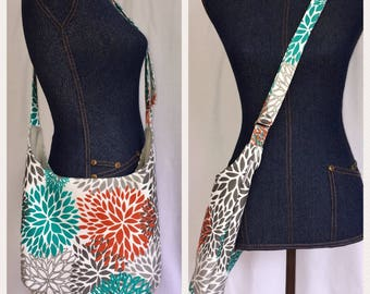 Cross Body Hobo; Crossbody Hobo; Crossbody Purse; Large Purse; Tote Bag with Pockets; Sling Bag; Slouchy Hobo Bag; Canvas Tote; Diaper Bag