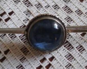 STERLING SILVER BUTTERFLY wing brooch