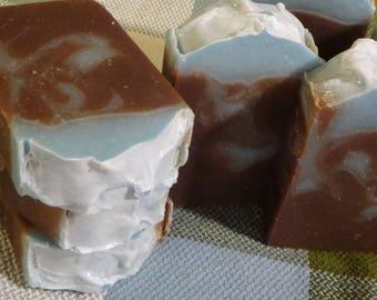 Blueberry Pumpkin Patch Handmade Soap | Cold Process Soap | Artisan Soap | Luxury Soap | 5 Ounce Bar Soap